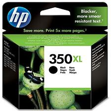 GENUINE BLACK HP 350XL INK CARTRIDGE (CB336EE) FOR DESKJET PHOTOSMART OFFICEJET