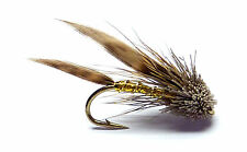 3x, 6x or 12x Fly Fishing Trout Flies (MM2) GOLD MINI MUDDLER Trout Fly