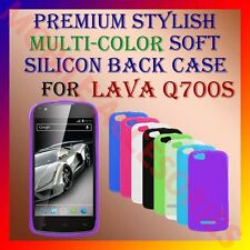 ACM-PREMIUM RICH MULTI-COLOR SOFT SILICON BACK CASE for XOLO Q700s MOBILE COVER