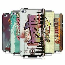 HEAD CASE DESIGNS POSTCARDS CASE COVER FOR APPLE iPOD TOUCH 4G 4TH GEN