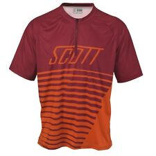 Scott Path 40 Fahrrad Trikot kurz rot/orange 2014