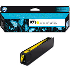 GENUINE HP HEWLETT PACKARD OFFICEJET PRO HP 971 YELLOW INK CARTRIDGE (CN624AE)