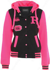 Showstoppers Giubbotto Giacca Bambina/Ragazza Mod.College Rosa Varie Taglie