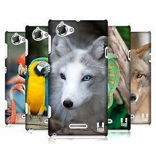 HEAD CASE DESIGNS FAMOUS ANIMALS CASE COVER FOR SONY XPERIA L C2105