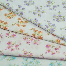 Edith's Blooming Floral Flowers Garden Polycotton Fabric