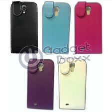 SAMSUNG GALAXY S4 I9500 PU LEATHER FLIP CASE COVER CASE AND SCREEN PROTECTOR