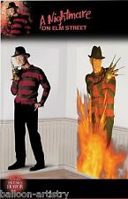 2-Pack Halloween Horror Movie Door Posters - Freddy Krueger Jason Voorhees