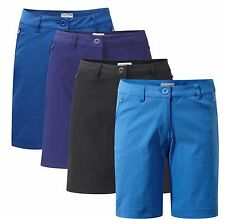 CRAGHOPPERS WOMENS KIWI PRO STRETCH SHORTS LIGHTWEIGHT TRAVEL WEAR QUICK DRY