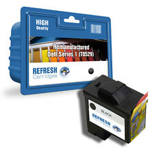 REMANUFACTURED DELL T0529 BLACK HIGH CAPACITY SINGLE PRINTER INK CARTRIDGE
