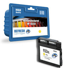 REMANUFACTURED HEWLETT PACKARD HP 933XL YELLOW HIGH CAPACITY INK CARTRIDGE