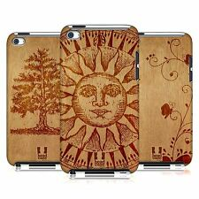 HEAD CASE DESIGNS WOOD ART CASE COVER FOR APPLE iPOD TOUCH 4G 4TH GEN