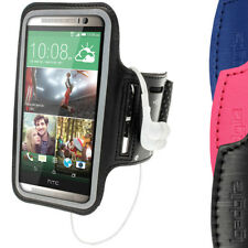 Brazalete Armband Neopreno para HTC One M8 2014 Deporte Armband Funda Run Gym