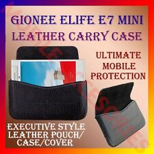 ACM-HORIZONTAL LEATHER CARRY CASE for GIONEE ELIFE E7 MINI MOBILE POUCH COVER