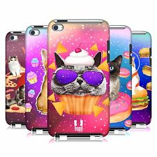 HEAD CASE DESIGNS REALISTIC CATS IN SPACE CASE FOR APPLE iPOD TOUCH 4G 4TH GEN