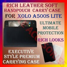 ACM-RICH LEATHER SOFT CARRY CASE for XOLO A500S LITE MOBILE HANDPOUCH COVER NEW
