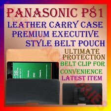 ACM-BELT CASE for PANASONIC P81 MOBILE LEATHER CARRY POUCH COVER CLIP HOLDER NEW