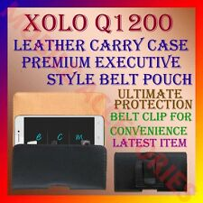 ACM-BELT CASE for XOLO Q1200 MOBILE LEATHER CARRY POUCH COVER CLIP HOLDER LATEST