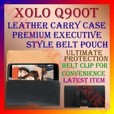 ACM-BELT CASE for XOLO Q900T MOBILE LEATHER CARRY POUCH COVER CLIP HOLDER LATEST