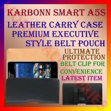 ACM-BELT CASE for KARBONN SMART A5s MOBILE LEATHER CARRY POUCH COVER CLIP HOLDER