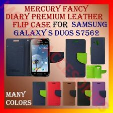 ACM-MERCURY PREMIUM DIARY FLIP CASE for SAMSUNG GALAXY S DUOS S7562 WALLET COVER