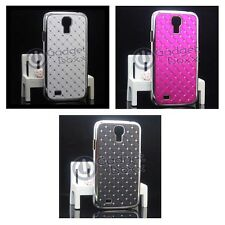 RHINESTONE DIAMANTE GEM HARD BACK CASE COVER FOR SAMSUNG GALAXY S4 I9500