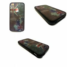 UNION JACK AND LONDON PRINT DESIGN HARD BACK FOR APPLE IPHONE 4/ 4S