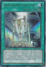 YU-GI-OH: ULTRA RARE - LIGHTSWORN SANCTUARY - SDLI-EN024 1ST EDITION