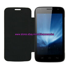 ACM-LEATHER DIARY FOLIO FLIP FLAP CASE for MICROMAX CANVAS ENTICE A105 COVER NEW
