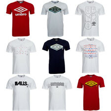 Umbro Herren Classic Logo Optical Illusion T-Shirt S M L XL 2XL 3XL Shirt neu