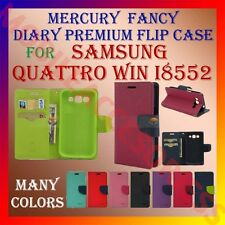 ACM-MERCURY RICH DIARY CASE of SAMSUNG GALAXY QUATTRO WIN I8552 WALLET COVER NEW