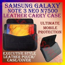 ACM-HORIZONTAL LEATHER CARRY CASE for SAMSUNG GALAXY NOTE 3 NEO N7500 COVER NEW