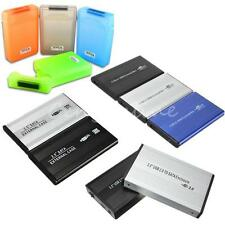 "3.5""/2.5"" inch USB 2.0 IDE/SATA HDD Hard Drive Disk External Case Box Enclosure"