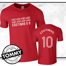 Philippe Coutinho Liverpool FC T-Shirt, Coutinho, liverpool tshirt Fan T-Shirt