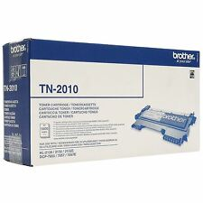 GENUINE BROTHER TN-2010 BLACK LASER TONER CARTRIDGE FOR HL / DCP SERIES PRINTERS