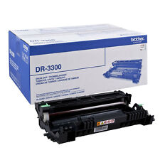GENUINE BROTHER DR-3300 ORIGINAL LASER PRINTER IMAGING DRUM UNIT CARTRIDGE