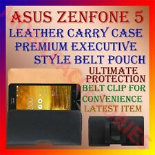 ACM-BELT CASE for ASUS ZENFONE 5 A501CG MOBILE LEATHER CARRY POUCH COVER CLIP