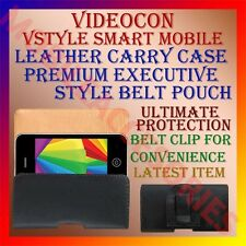 ACM-BELT CASE for VIDEOCON VSTYLE SMART MOBILE LEATHER CARRY POUCH COVER HOLDER