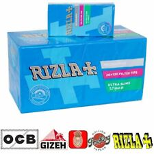 4800 FILTRI RIZLA ULTRA SLIM ULTRASLIM 5,7 5.7 mm + CARTINE CORTE A SCELTA