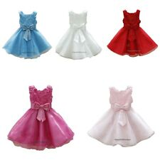 Flower Girls Dress Young Bridesmaid Dress Prom Pageant Wedding Party Christening