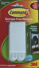 3M Command Strips Large Picture or Wire Backed Hanger Damage free