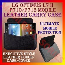 ACM-HORIZONTAL LEATHER CARRY CASE for LG OPTIMUS L7 II P710/P713 MOBILE COVER