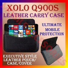 ACM-HORIZONTAL LEATHER CARRY CASE for XOLO Q900S MOBILE POUCH COVER HOLDER NEW