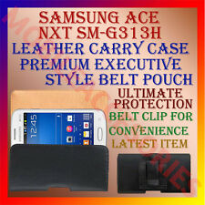ACM-BELT CASE for SAMSUNG ACE NXT SM-G313H MOBILE LEATHER POUCH COVER HOLDER NEW