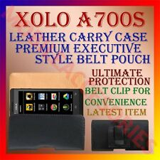 ACM-BELT CASE for XOLO A700S MOBILE LEATHER POUCH CARRY COVER HOLDER PROTECT NEW