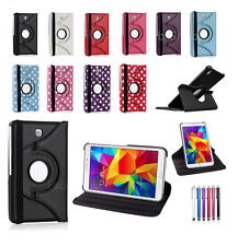 """Smart 360 Leather Stand Case Cover For Samsung Galaxy Tab 4 7.0"""" & 10.1"""" Inch"""