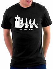 Who is your doctor Tardis Gallifrey Road T-shirt