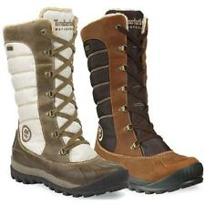 Timberland Damen EK Mount Holly Tall Duck Stiefel Winterstiefel Schneestiefel