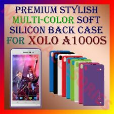 ACM-PREMIUM RICH MULTI-COLOR SOFT SILICON BACK CASE for XOLO A1000s MOBILE COVER