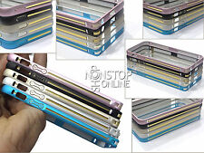 iPHONE 6 ROUNDED STYLE ULTRA THIN 0.7MM METAL BUMPER CASE COVER FOR iPHONE 5 5S