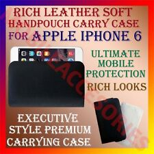 ACM-RICH LEATHER SOFT CARRY CASE for APPLE IPHONE 6 MOBILE HANDPOUCH COVER CASE